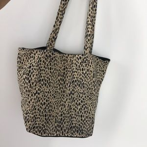 Brandy Melville leopard print tote